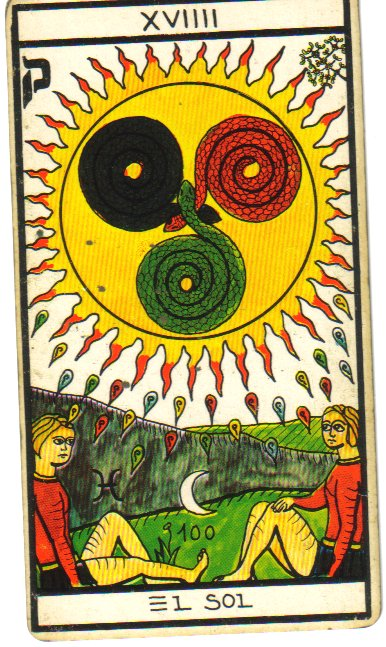 the sun tarot card vitoria deck
