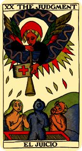 judgment tarot card marseilles deck
